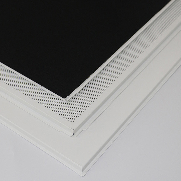 0.7mm Thickness Metal Ceiling Panels Standard Hollow / CNC Perforated Pattern